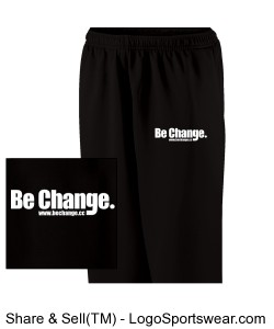 Be Change Adult Frenzy Sweatpants Design Zoom