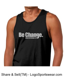 Be Change Next Level Mens Jersey Tank Design Zoom
